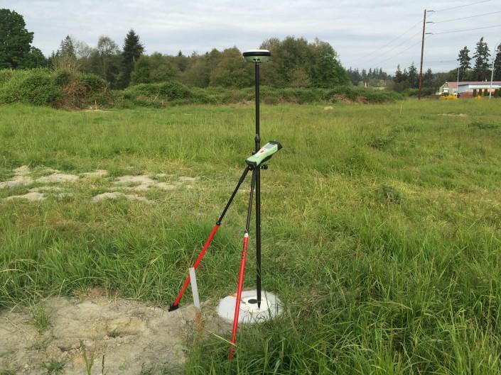 Whidbey Island Land Surveying Equipment